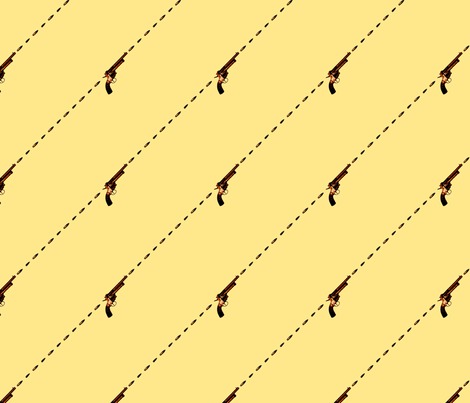 Stick 'Em Up (Rotate) fabric by leighr on Spoonflower - custom fabric