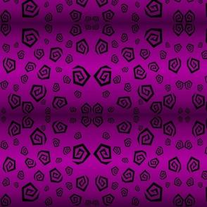 Purple Spiral Leopard