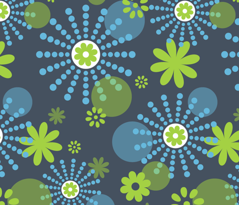 funkydots fabric by shelley0917 on Spoonflower - custom fabric