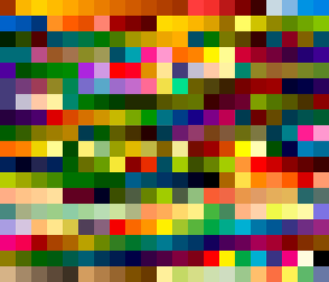 colors fabric by thatswho on Spoonflower - custom fabric