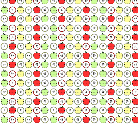 Sweet Apples fabric by geemarie on Spoonflower - custom fabric