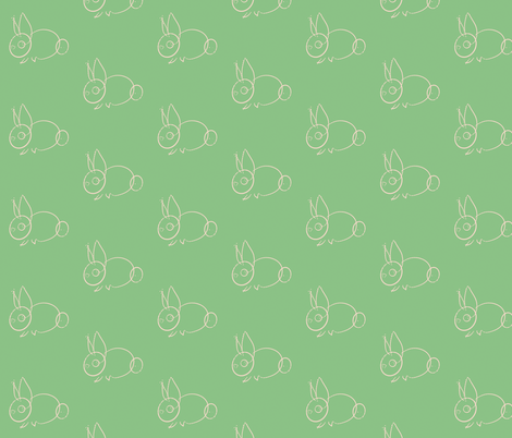 bun is loose fabric by giolou on Spoonflower - custom fabric