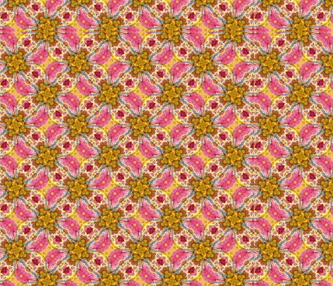 Pattern with Pink fabric by ginette on Spoonflower - custom fabric