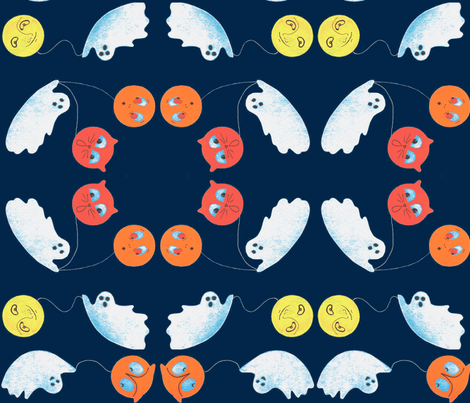 Ghost_Celebration-ch fabric by anenome on Spoonflower - custom fabric