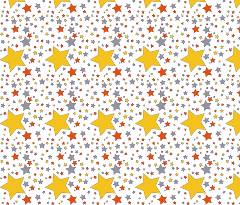 Starsjpeg-ed fabric by birgitterosenkilde on Spoonflower - custom fabric