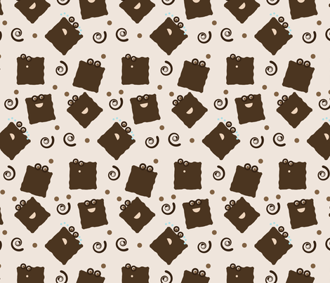 mr. yommie pattern fabric by sukro on Spoonflower - custom fabric