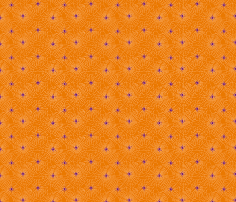 Spidery Web - Halloween fabric by voodoorabbit on Spoonflower - custom fabric