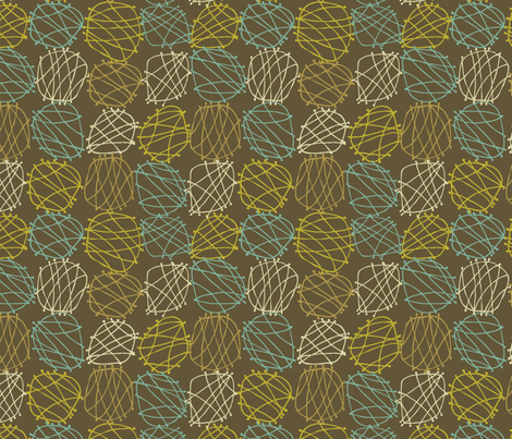 Fun Grid fabric by mariacabo on Spoonflower - custom fabric