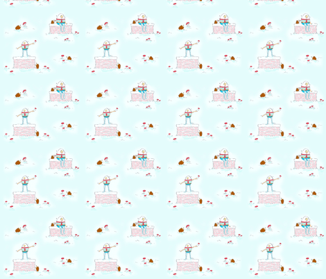 Hedgies and Humpty fabric by pocketful_of_pinwheels on Spoonflower - custom fabric