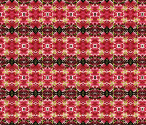 Flower Hawaii 1 fabric by gail_deleon on Spoonflower - custom fabric