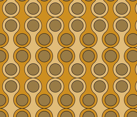 circle pattern fabric by suziedesign on Spoonflower - custom fabric