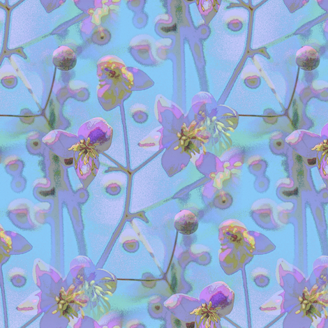 Meadow rue  fabric by vib on Spoonflower - custom fabric