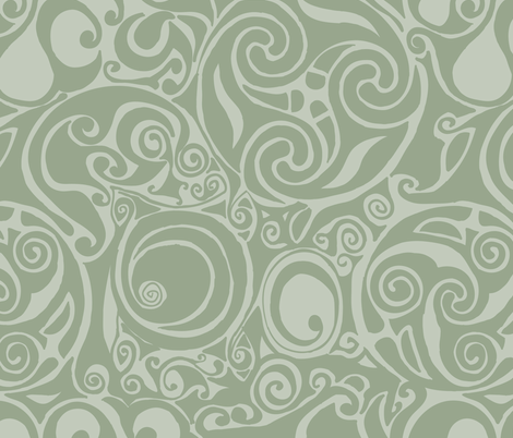 celtic pattern fabric by suziedesign on Spoonflower - custom fabric