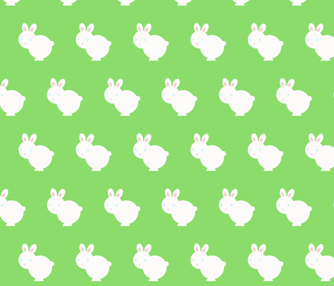 bunnywunny fabric by giolou on Spoonflower - custom fabric