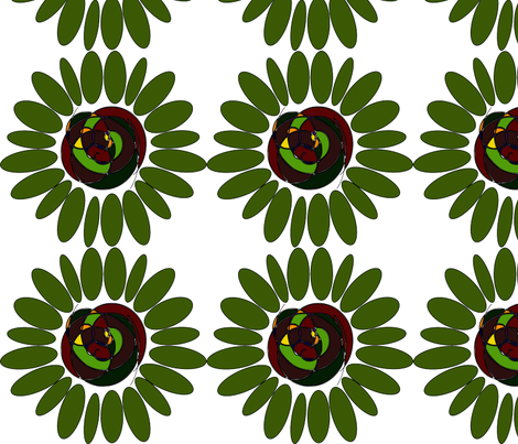 Groovy Flower fabric by angela_s on Spoonflower - custom fabric