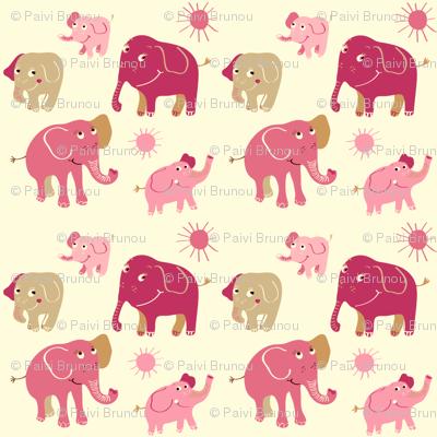 Elephant rosa