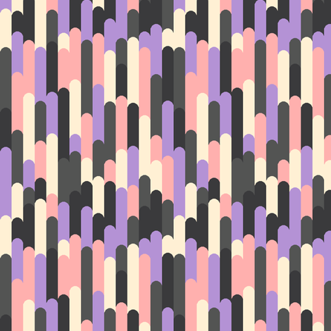 Rayure fabric by leighr on Spoonflower - custom fabric