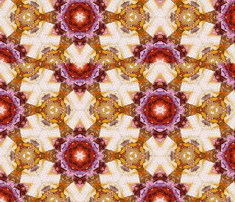 Quilty Pattern by Ginette (Mirror Repeat) fabric by ginette on Spoonflower - custom fabric