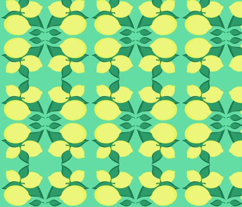 lemonnomel fabric by giolou on Spoonflower - custom fabric
