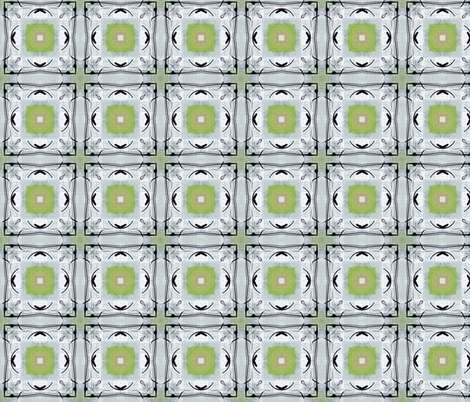 Fleuro Pattern by Ginette (Any Repeat) fabric by ginette on Spoonflower - custom fabric