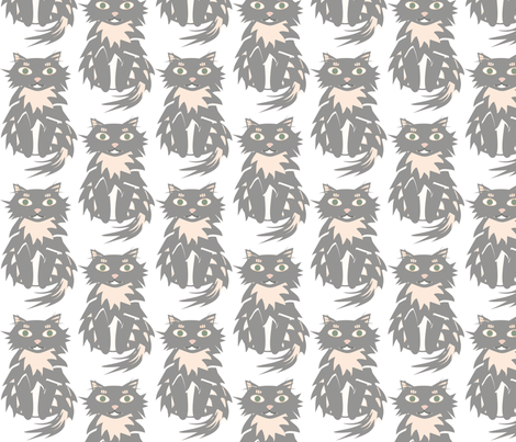 miss pi-chi queen of everything fabric by giolou on Spoonflower - custom fabric