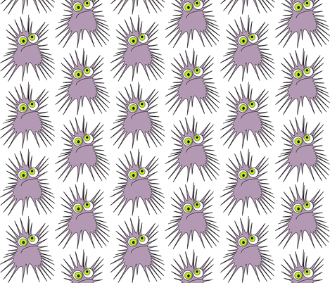 goog goes urchin fabric by giolou on Spoonflower - custom fabric