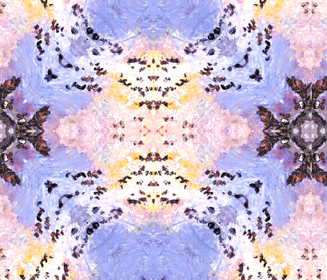 Out Of The Blue (Basic & Mirror Repeat) fabric by ginette on Spoonflower - custom fabric