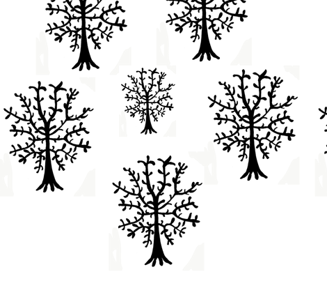 tree_repeat fabric by sequingirlie on Spoonflower - custom fabric