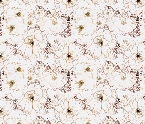 Rose Blush - Pink fabric by kristopherk on Spoonflower - custom fabric