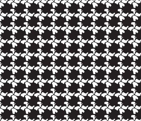 Fungaflower - Basic Repeat fabric by freakgeekunique on Spoonflower - custom fabric