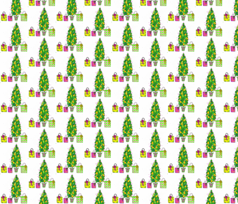 holly_tree_copy_ed fabric by connielou on Spoonflower - custom fabric