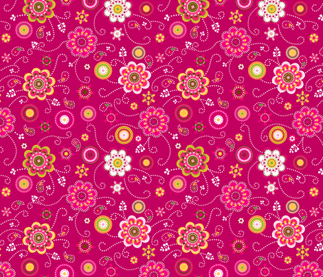 ZingBloom fabric by blinkblots on Spoonflower - custom fabric