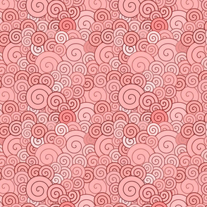 pink spirals