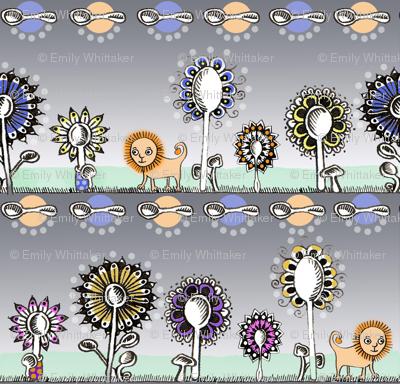 Spoonflowers Lion