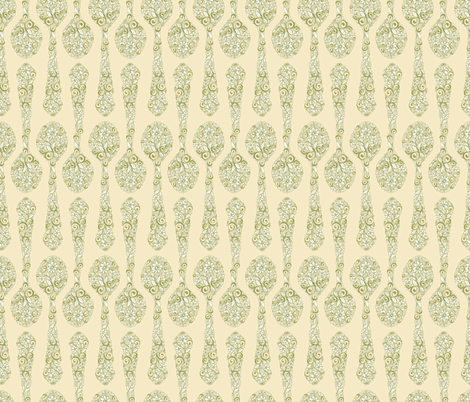 antiquespoonflower fabric by leslipepper on Spoonflower - custom fabric