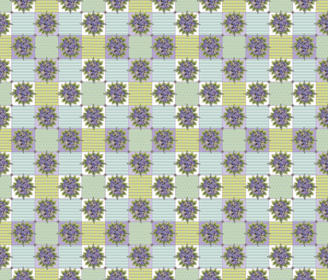 hydrangeablocks fabric by leslipepper on Spoonflower - custom fabric