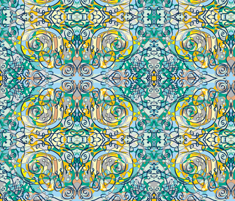 wrought spring day fabric by bandanna on Spoonflower - custom fabric
