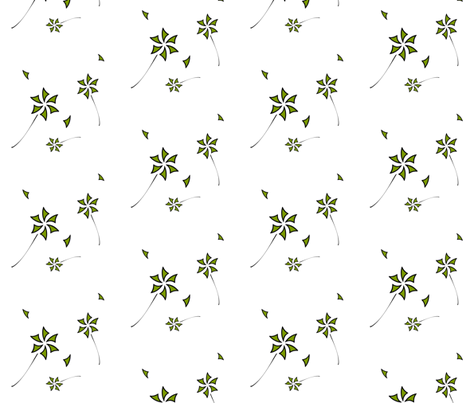 pinwheel_flowers-1 fabric by boodillys on Spoonflower - custom fabric