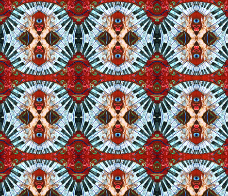 CRAZY FINGERS by Sue Duda fabric by suedudadesigns on Spoonflower - custom fabric
