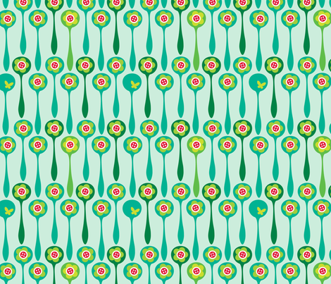 Spoon Forest - Day fabric by spellstone on Spoonflower - custom fabric