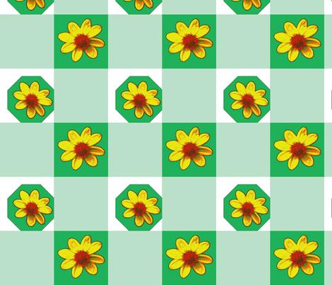Picnik_collage2_dalhias_pur-ch-ch fabric by khowardquilts on Spoonflower - custom fabric