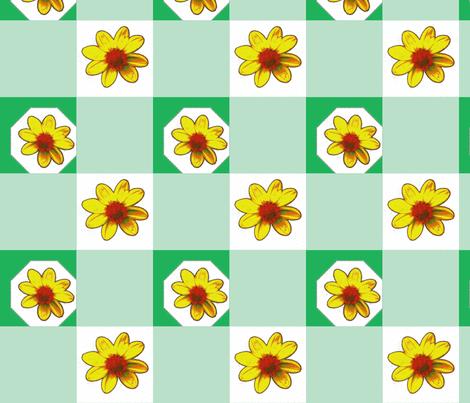 Picnik_collage2_dalhias_pur-ch-ch-ch fabric by khowardquilts on Spoonflower - custom fabric