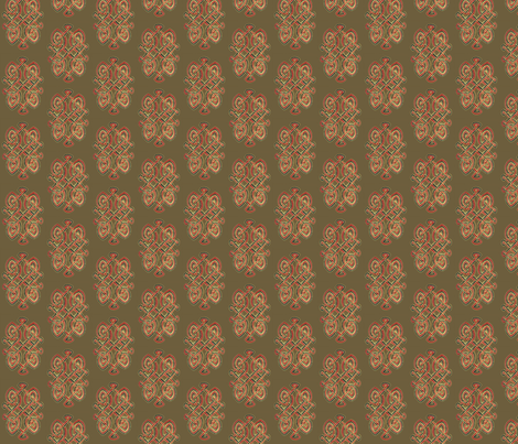 Celtic Twist fabric by jasmo on Spoonflower - custom fabric