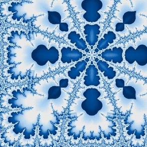 cool blue fractal