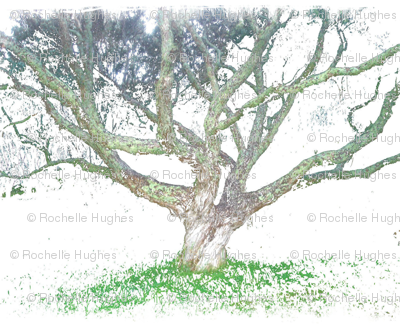 A_painted_tree