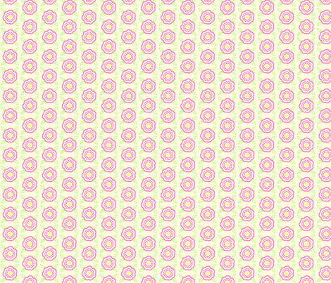 Single_Pink_Flower_Coord fabric by cksstudio80 on Spoonflower - custom fabric