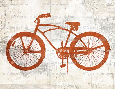 vintage bicycle cruiser