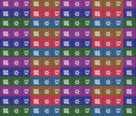 Adinkra Quilt-062 fabric by kkitwana on Spoonflower - custom fabric