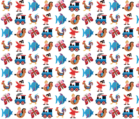 Play with me! fabric by hamburgerliebe on Spoonflower - custom fabric