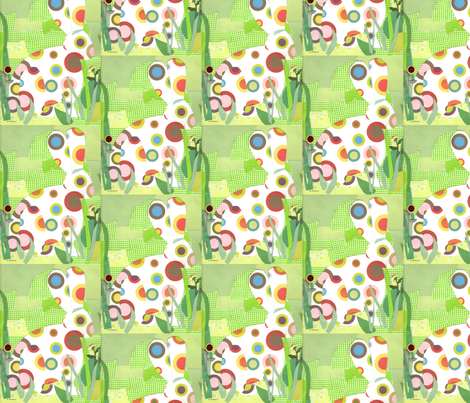 A_Bunny__041508 fabric by andie on Spoonflower - custom fabric